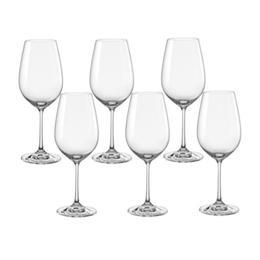 Pahare Bohemia Cristal Viola Raki pentru vin rosu set 6 buc 350ml