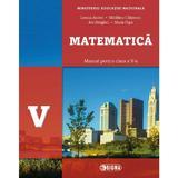 Matematica - Clasa 5 - Manual + CD - Lenuta Andrei, Madalina Calinescu, editura Sigma