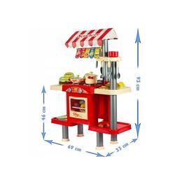 Fast food MalPlay cu electrocasnice, casa de marcat si accesorii