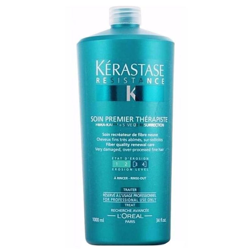 Balsam - Crema de Ingrijire - Kerastase Resistance Soin Premier Therapiste 3 - 4 Treat 1000 ml imagine produs