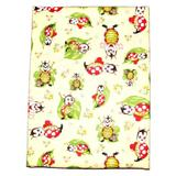Lenjerie patut cu buburuze, multicolor, 3 piese, 120x60 cm - Happy Gifts