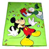 Lenjerie patut Donald si Mickey, 3 piese, 120x60 cm - Happy Gifts