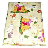 Lenjerie patut Winnie the Pooh, 3 piese, 120x60 cm - Happy Gifts