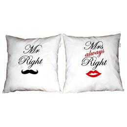 Set 2 perne Mr and Mrs Right - Happy Gifts