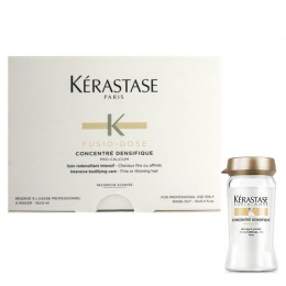Tratament Intensiv Par Fin, Subtire - Kerastase Fusio - Dose Concentre Densifique 10 fiole x 12 ml