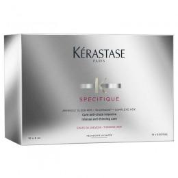 Tratament Intensiv Impotriva Caderii si Subtierii Parului - Kerastase Specifique Aminexil GLM + AOX Complex 10 fiole x 6 ml