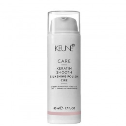 Crema Keune Care Keratin Smooth Silkening Polish Ultimate Control 50 ml
