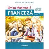 Limba franceza L2 - Clasa 7 - Manual - Gina Belabed, Claudia Dobre, Diana Ionescu, editura Booklet