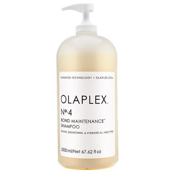 Sampon de Intretinere pentru Toate Tipurile de Par - OLAPLEX No. 4 Bond Maintenance Shampoo, 2000ml imagine