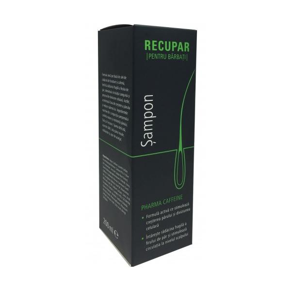 Recupar Sampon Barbati Caffeine Zdrovit, 200 ml imagine produs