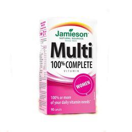 Multi 100% Complet Femei Jamieson, 90 comprimate