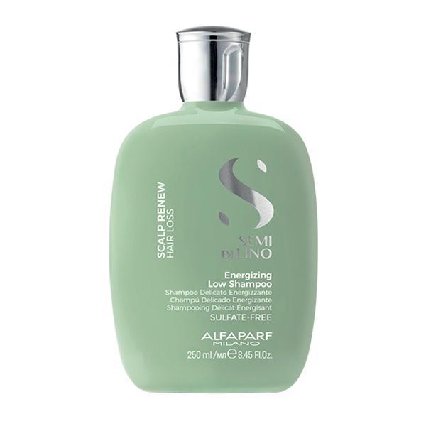 Sampon Energizant impotriva Caderii Parului - Alfaparf Milano Semi Di Lino Scalp Renew Energizing Low Shampoo, 250ml poza