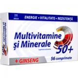 Multivitamine + Minerale + Ginseng 50+ Zdrovit, 56 comprimate