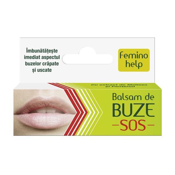Balsam de Buze Feminohelp Zdrovit, 7 ml poza