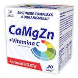Ca + Mg + Zn + Vitamina C Forte Zdrovit, 20 plicur