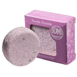 Sampon solid Purple Passion, Bomb Cosmetics, 50 gr de la esteto.ro