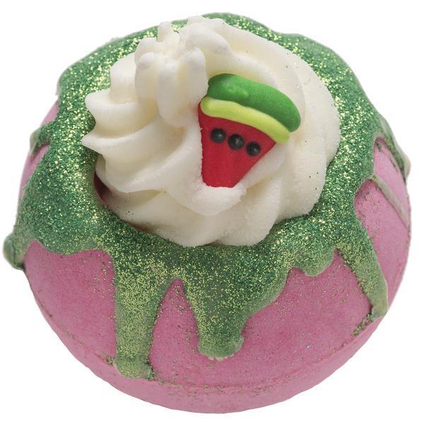 Bila efervescenta de baie One In A Melon, Bomb Cosmetics, 160 gr imagine produs