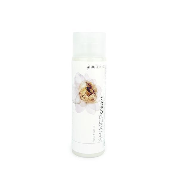 Crema dus, cu floare de bumbac si lotus, Greenland, 250 ml imagine produs