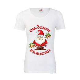 Tricou Craciun alb, tricou personalizat, marimea XXL - Cadouri Urbane