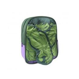 Ghiozdan pentru gradinita, Avengers Hulk 3D, verde, 31 cm