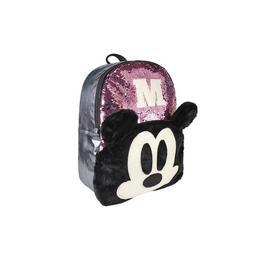Ghiozdan Disney Glam Mickey Mouse pentru scoala cu paiete reversibile 43 cm