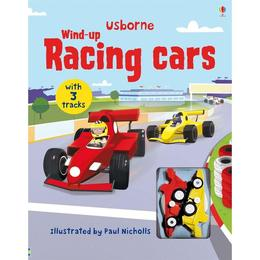 Carte jucarie masinute de curse Wind Up Racing Cars