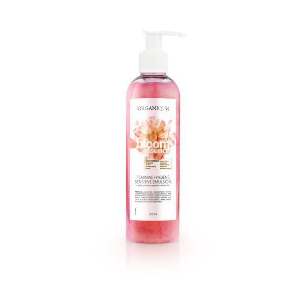 Igiena intima femei, cu floare de cires si nufar, Organique, 250 ml imagine produs