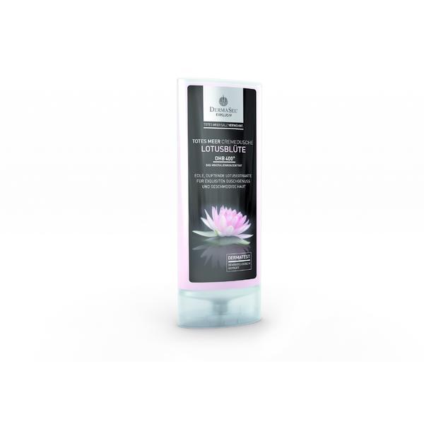 Crema de dus cu floare de lotus, Dermasel, 150 ml imagine produs
