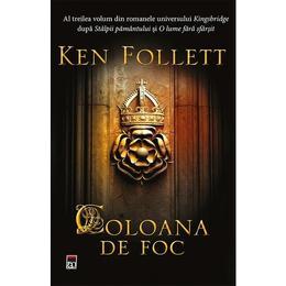 Coloana de foc - Ken Follet, editura Rao