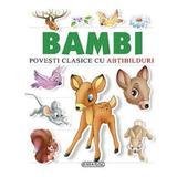 Bambi - Povesti clasice cu abtibilduri, editura Girasol