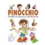 Pinocchio - Povesti clasice cu abtibilduri, editura Girasol