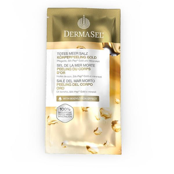 Exfoliant corp cu aur, Dermasel, plic, 38 ml imagine produs