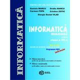 Informatica Cls12 Intensiv - Daniela Marcu, Ovidiu Marcu, Carmen Popa, editura Gil