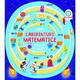Labirinturi matematice: Inmultiri si impartiri - Angelika Scudamore, editura Corint
