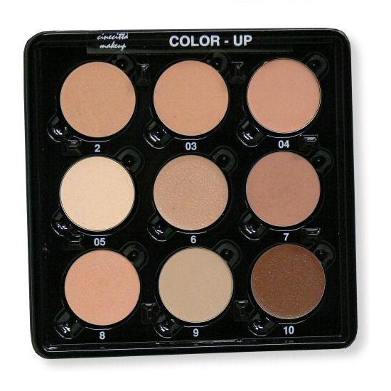 Paleta Profesionala 9 Culori Crema pentru Imperfectiuni - Cinecitta PhitoMake-up Professional Tavolozza Professionale 9 Colori Color Up Camouflage