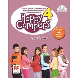 Happy Campers. Skills Book - Clasa 4 - Patricia Acosta, editura Litera