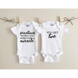 Body pentru Gemeni, 0-3 luni, Nou nascut, Newborn, Body din Bumbac, Alb, 2 bucati