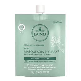 Mască purifiantă pentru ten cu argilă verde Laino 16g