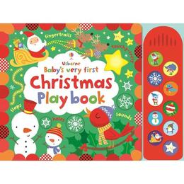 Carte pentru Craciun- Baby's Very First Christmas Playbook Usborne