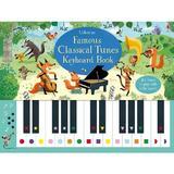 Carte pian cu melodii clasice Famous classical tunes keyboard book editura Usborne