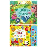Carti muzicale pentru bebelusi Big Playbook si Garden Sounds