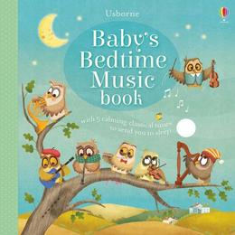 Carte de adormit bebelusii Baby's bedtime music book editura Usborne