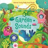 Carte cu sunete din gradina Garden Sounds Usborne
