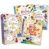 Set de carti pentru creat povesti Writer's box Usborne