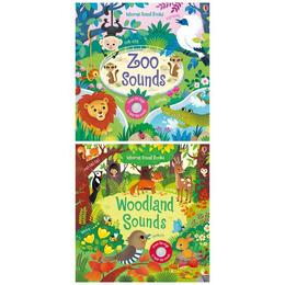 Set de carti cu sunete Woodland si Zoo Sounds editura Usborne