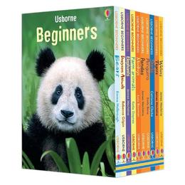Set educativ ce contine 10 carti in limba engleza despre Animale - Beginners Animals Box Set