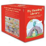 Set de 50 carti  cu povesti in limba engleza + 4 ani My reading library editura Usborne