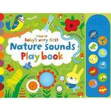 Carte cu sunete din natura pentru bebelusi  Baby's Very First Nature Sounds Playbook