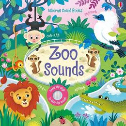 Carte cu sunete de la gradina zoologica editura Usborne