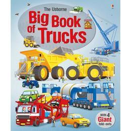 Carte despre camioane si masini mari Big book of Trucks Usborne